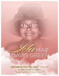 Ida Green Obituary by Reginald Gales - issuu