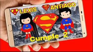 Superheroes Tarjeta Invitacion Digital Cumpleanos Video 399 99