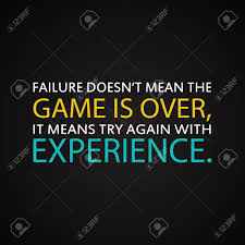 success quotes try again experience motivational