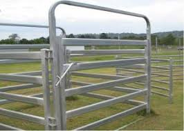 Heavy Duty Galvanized Cattle Yard Horse Fence Panel Gate Line Post 50mm For Sale Cattle Yard Panels Manufacturer From China 108461945