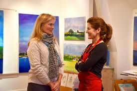 Darien Artist Donates Painting for Tree Conservancy of Darien Auction -  DarieniteDarienite