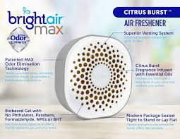 Max Odor Eliminator Air Freshener Citrus Burst 8 Oz 6 Carton Wb Mason