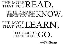 dr seuss quotes about reading image quotes at com