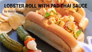 Lobster Roll with Pad Thai Sauce ...