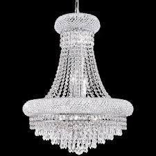 large crystal chandelier living room