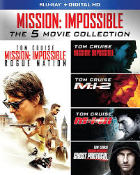 Amazon.com: Mission: Impossible: The 5 Movie Collection [Blu-ray ...