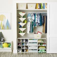 Create More Room To Grow With A Space That Opens Up To More Storage Possibilities Hanging S Kids Closet Organization Closet Organization Cheap Small Kids Room