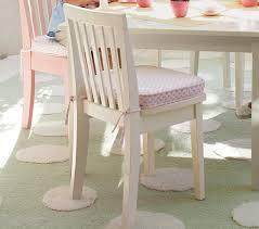 Chenille Dot Carolina Kids Chair Cushion Pottery Barn Kids