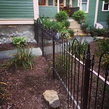 Wrought Iron Fence Panels 3 Foot Tall With Metal Stakes