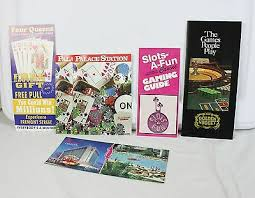 phlets brochures golden nugget slots