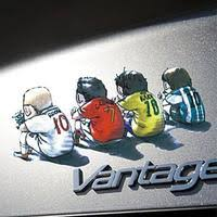 Cartoon Style Ronaldo Rooney Messi Car Sticker Decal Visual Car Modification