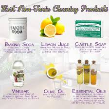 do it yourself non toxic cleaning