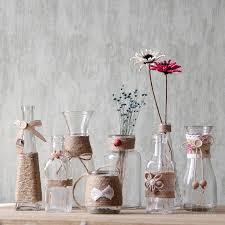vintage glass vase home decoration