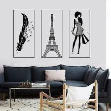 Shop Paris Wall Decals For Girls On Wanelo