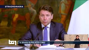 CONFERENZA STAMPA CONTE - Segui ora la Diretta Video Ufficiale ...