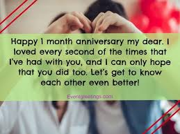 amazing month anniversary quotes to celebrate the special day
