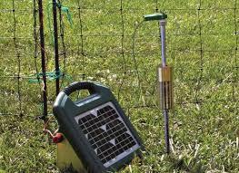 Solar Powered Electric Garden Fence Di 2020 Kesehatan