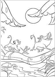 Dieren Lopen In Het Maanlicht Kleurplaat Gratis Kleurplaten Printen