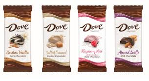 dove chocolate jumps on flavor
