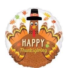 Happy Thanksgiving Turkey Balloon 17in   Party City