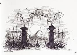 Nightmare Before Christmas Background Drawing Clip Art Library