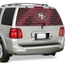 San Francisco 49ers Sf Auto Rear Window Film Decal Windshield Cover Nfl Football 332512259