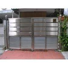 Stainless Steel Gate Designer Stainless Steel Gate Latest Price Manufacturers Suppliers