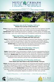 summer outdoor concerts at msu