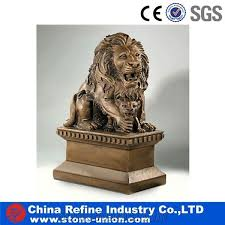 lion statue from china for decoration