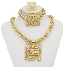 liffly african wedding jewelry necklace