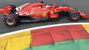 F1 Belgium: Practice 3 results at Spa ...
