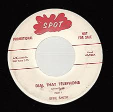 EFFIE SMITH 45 RPM Dial That Telephone / Same - Amazon.com Music