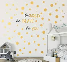 193 Pcs Gold Dot Wall Decal Inspiration Buy Online In Faroe Islands At Desertcart