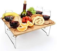 tirrinia outdoor wine picnic table