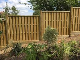 Vertical Hit And Miss Fence Panels Jacksons Fencing