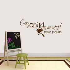 Shop Every Child Is An Artist Wall Decal On Sale Overstock 20729296