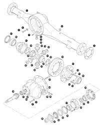 axle casing and diffeial env axle