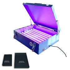 led exposure unit for screen printing
