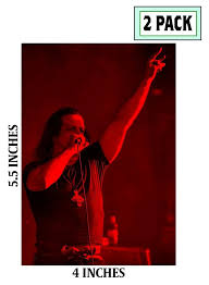 2 Pack Glenn Danzig Photo Stickers Vinyl Decal Misfits