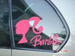 Barbie Doll Car Window Truck Decal Sticker Pink Color Sbd04058 4 L X 5 8 W By Signsorcerer Http Www Amazon Com Dp B0 Barbie Doll Car Barbie Car Girly Car