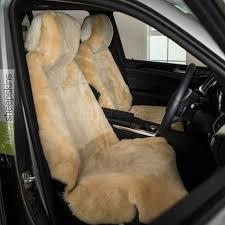 short wool sheepskin car seat covers