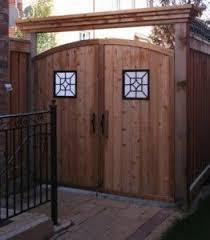 Gate Insert Google Search Outdoor Decor Backyard Gate Decoration Backyard Gates