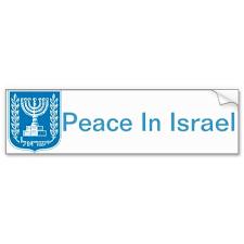 Medinat Yisra El Israel Jewish Judaism Bumper Stickers Bumpers Custom Stickers