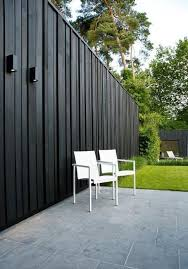 Find Out 15 Inspiring Black Outdoor Garden Design Ideas Privacy Fence Designs Fence Design Backyard Fence Decor