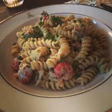 Crawfish Monica : food
