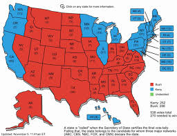 Here's the 2012 and 2004 Presidential Election Maps.....
