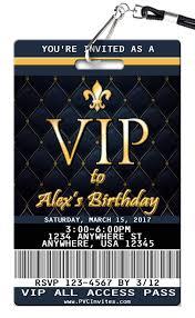 Vip Birthday Invitation Invitaciones De Fiesta Fiestas De Cumpleanos De Hollywood Tarjetas Invitacion Cumpleanos