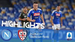 Highlights Serie A - Napoli vs Cagliari 0-1 - YouTube