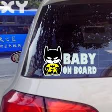 Baby Batman Baby On Board Vinyl Car Decal Sticker Reflective Tape Stickers Drop Shipping Baby On Board Reflective Tapereflective Tape Stickers Aliexpress