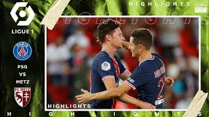 PSG 1-0 Metz - HIGHLIGHTS & GOALS - (9/16/2020) - YouTube